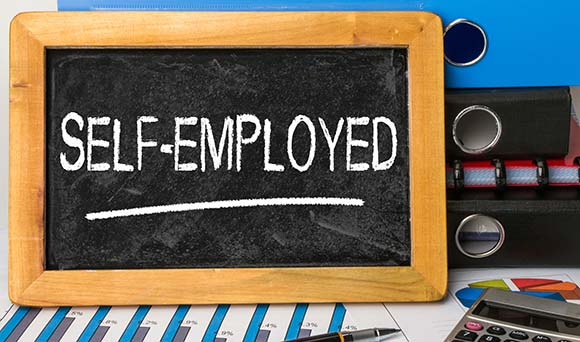 How do I use the Government Gateway to claim the self-employed grant?
