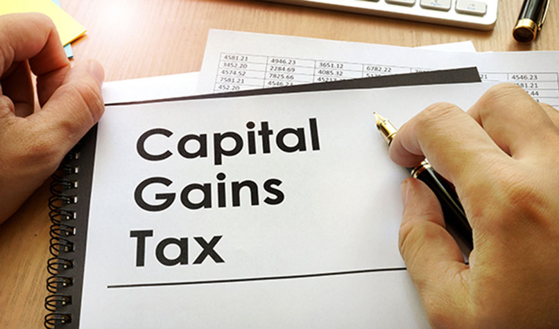 Record levels of capital gains tax received in 2018-19