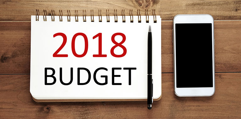 Budget 2018 Summary and Highlights