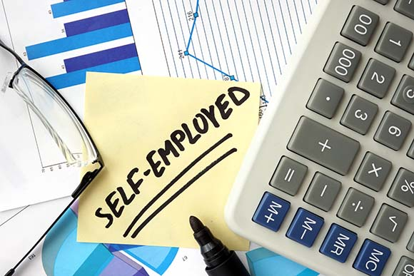 Initial support for self employed individuals